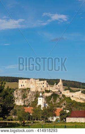 Ruins of Beckov castle, Slovakia