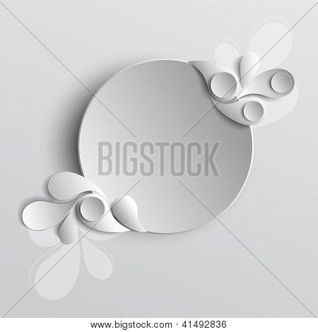 Paper vector background