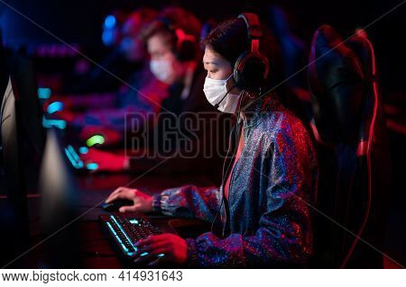 An Online Strategy Tournament For Esports Players In The Cyber Games Arena. A Professional Team Of C