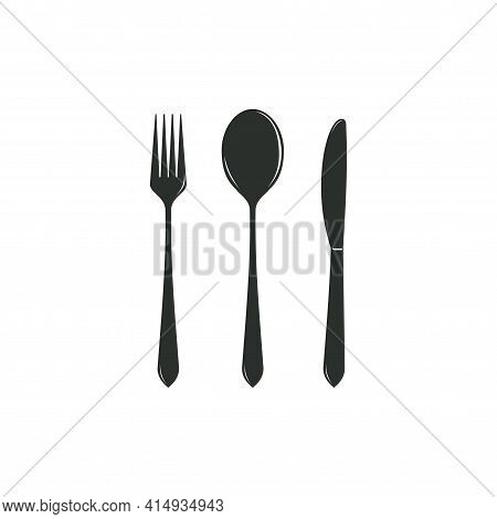 Simple Cutlery Icon Isolated From Kitchen Collection. Cutlery Icons Trendy And Modern Cutlery Symbol