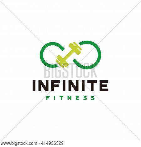 Infinity Gymnastic Logo Designs Concept Vector, Infinity Fitness Logo Template