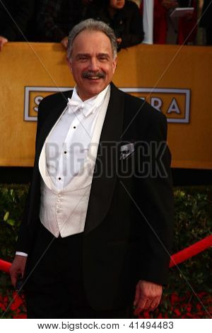 LOS ANGELES - JAN 27:  Anthony Laciura arrives at the 2013 Screen Actor's Guild Awards at the Shrine Auditorium on January 27, 2013 in Los Angeles, CA