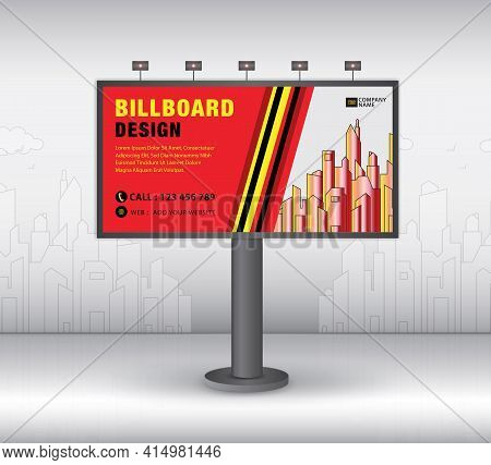 Billboard Template Design2021-no8