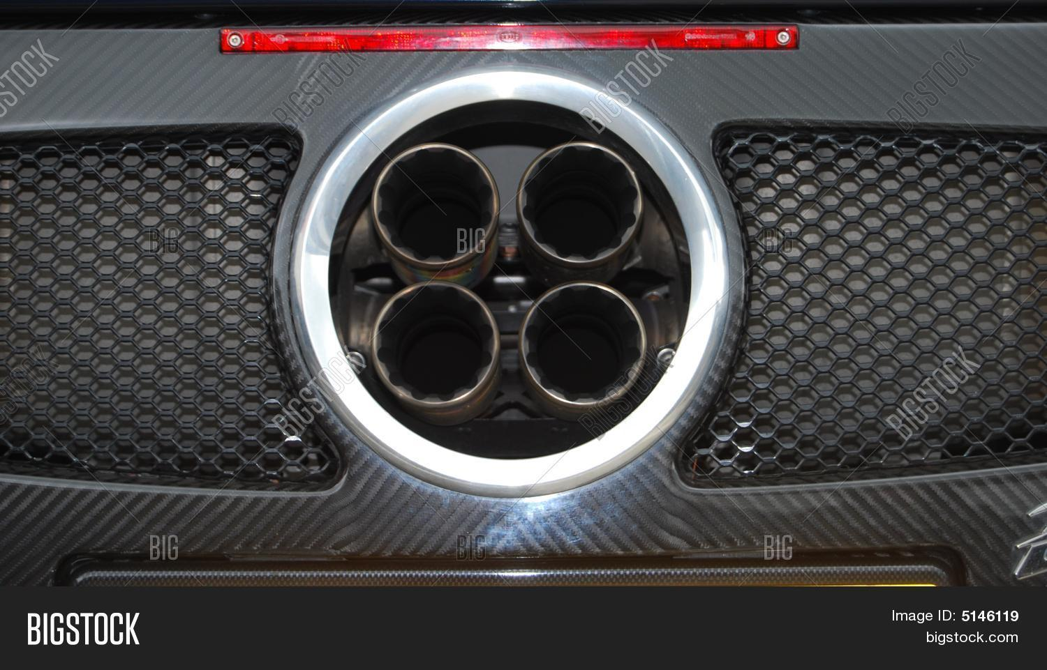Exhaust 4 Exhaust Image Photo Free Trial Bigstock