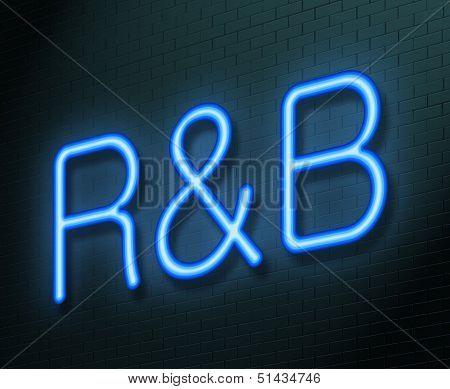 R&b Concept.