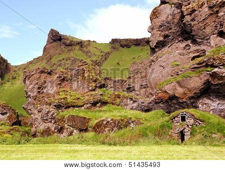 Icelandic Turf House