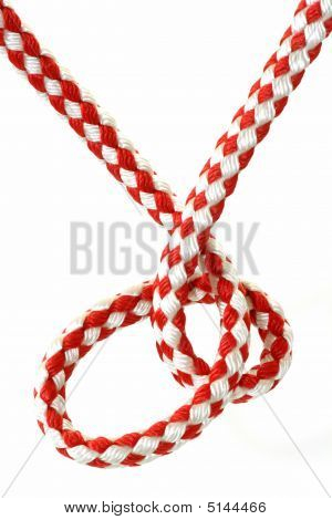 Red And White Rope
