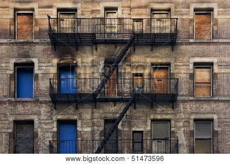Fire Escape Facade