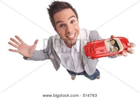 Presenting A Car