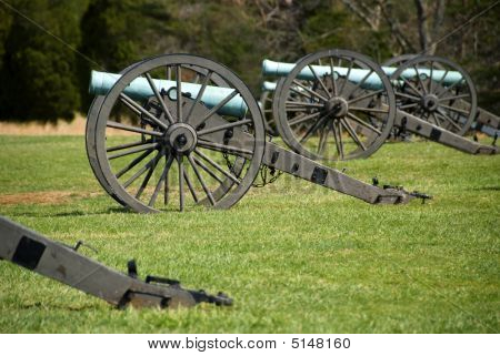Manassas Battlefield Monument In Virginia