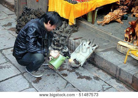 Chinese Wood Artisan