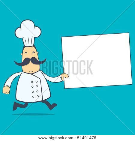chef in various poses