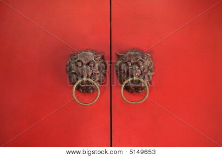 Classic Chinese Red Gate
