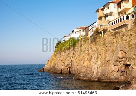 Houses On The Cliff