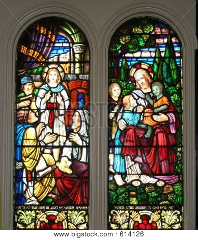 Pair Biblical Windows
