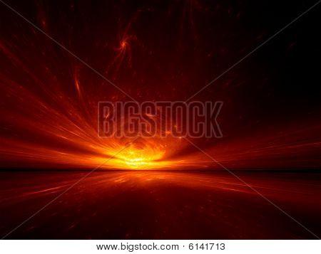 Star Embers - 3D fractal landscape