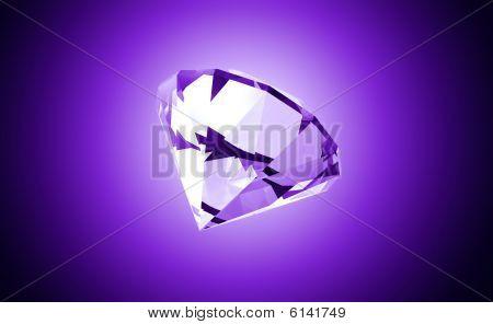Precious Purple Gemstone