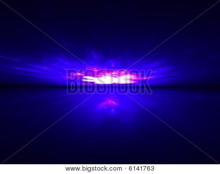 Spark Dance - 3D fractal landscape