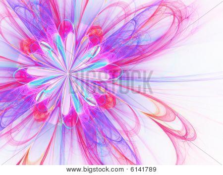 Flower Burst - fractal Illustration