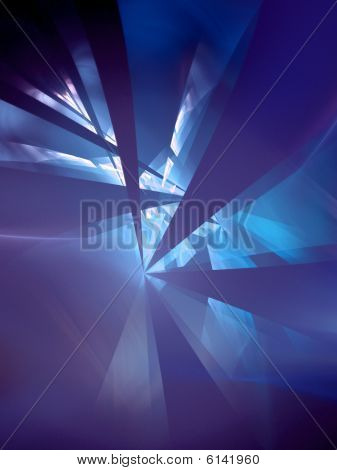 UV Refraction - fractal design
