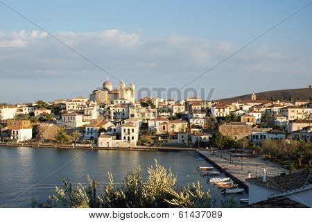 Galaxidi Village In Greece