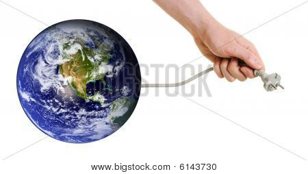Planet Earth Searching For New Sources Of Energy