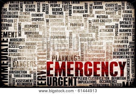 poster of Emergency Planning and Disaster Response as Concept