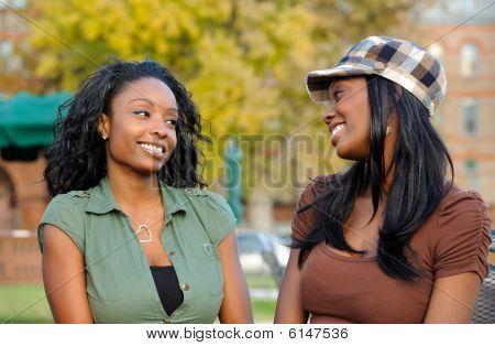 Amigos americanos africanos