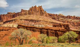 The Castle in Capitol Reef