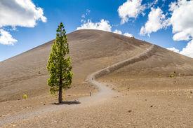 Cinder Cone in Lassen Volcanic National Park