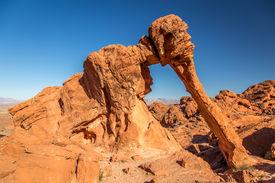 Elephant Rock in valley of Fire