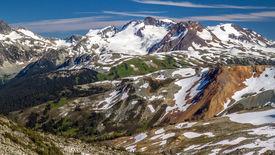 Hiking Whistler Summit in Summer