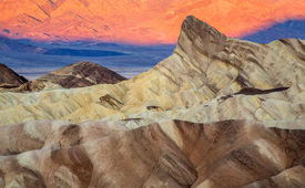 Zabriskie point sunrise Death Valley