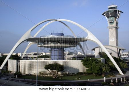 LAX Restaurant And Control Tower
