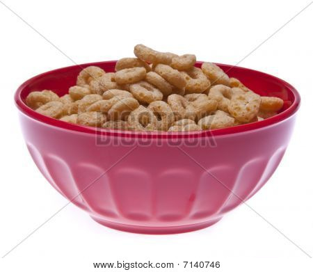 Bowl Of Round Cereal