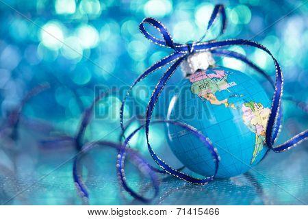 Christmas Globe.