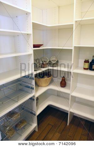 Spacious pantry