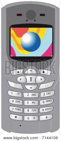 Mobile Cellphone Cellular Phone Vector