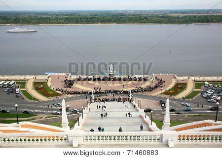 Cadets Take The Oath Nizhny Novgorod Police Academy