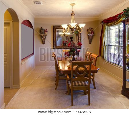 Dining Room Of US Home