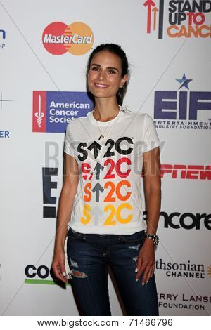 LOS ANGELES - SEP 5:  Jordana Brewster at the Stand Up 2 Cancer Telecast Arrivals at Dolby Theater on September 5, 2014 in Los Angeles, CA