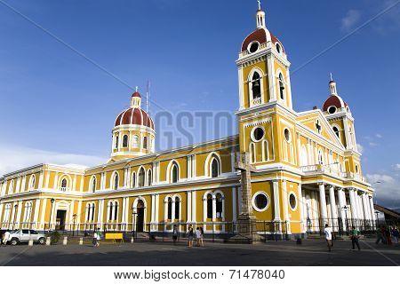 Granada church in Main Square