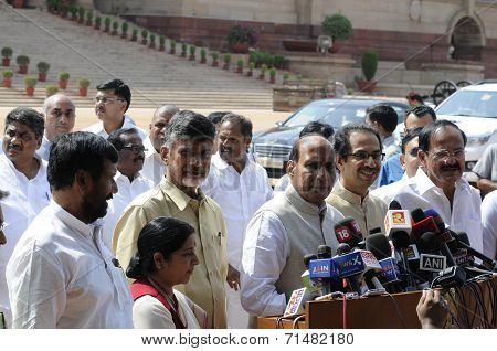 NDA at Rastrapati Bhawan