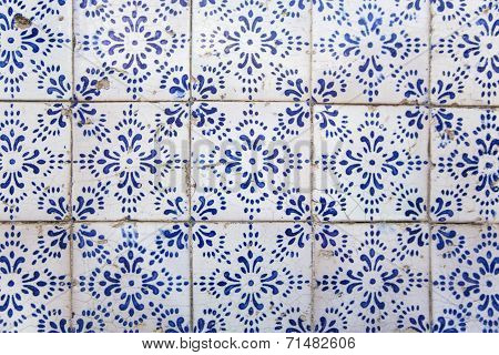 Pattern Of Ancient Decorative Tiles