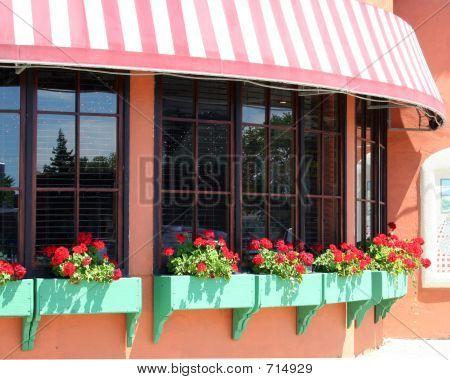 Restaurant Flowerboxes