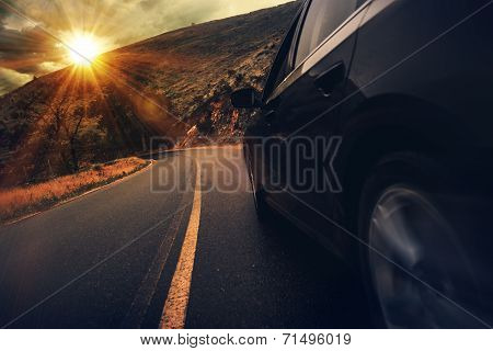 Summer Highway Drive