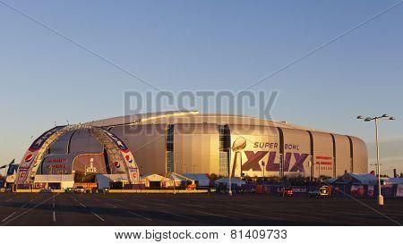 Super Bowl Golden Hour