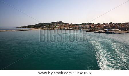 Looking Back At Argostoli