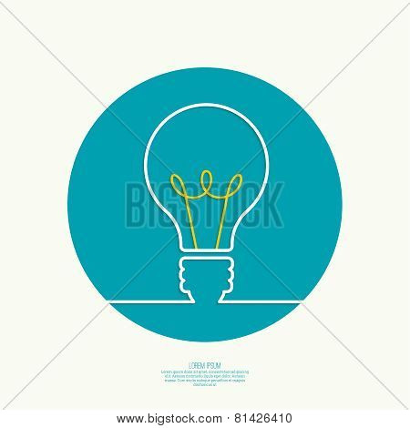Bulb light idea.