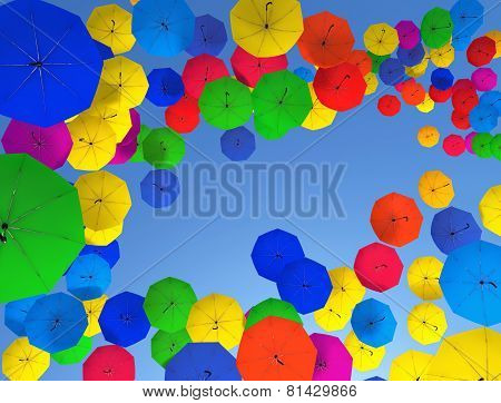 Colorful Umbrellas II